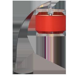 Лампа настольная LT06-4119/01.4.1 красный